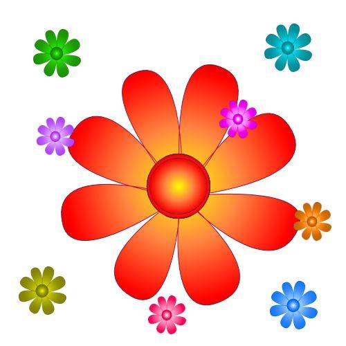 Vectoriel Des fleurs